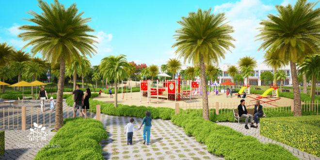 Dự án SaiGon Village – Sống xanh cùng thiên nhiên