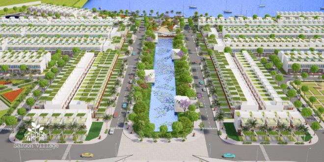 Dự án sài gòn village – dự án gần bờ sông phong thủy tốt