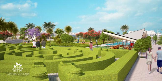 Dự án nhà phố vườn ven sông Sài Gòn Village với mong muốn mang lại một không gian sống xan
