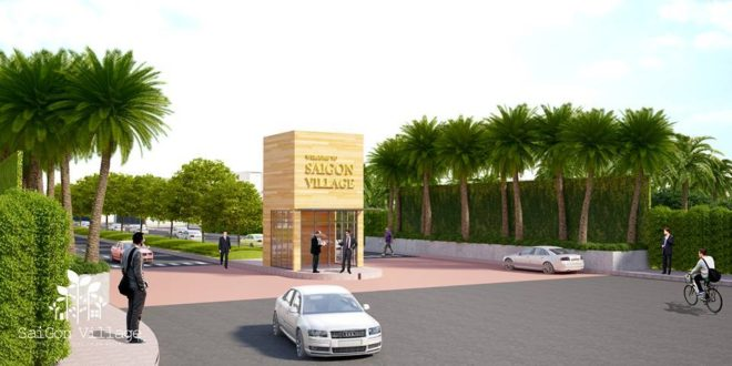 Dự án nhà phố SaiGon Village